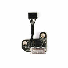 "DC Jack for MacBook 13"" White Unibody A1342 DC-IN DC Power Board Jack Connector w/ Cable 820-2627-A 922-9176"