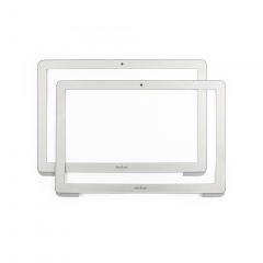 "818-1163 for Apple MacBook White Unibody 13"" A1342 Front LCD Bezel Cover 2009 2010 Year"