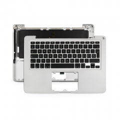 "2012 2011 Swiss for Apple Macbook Pro 13"" Unibody A1278 Chassis Palmrest Top Case with Keyboard and Backlit"