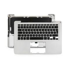 "2012 2011 Turkish Q for Apple Macbook Pro 13"" Unibody A1278 Chassis Palmrest Top Case with Keyboard and Backlit"