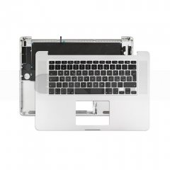 "Topcase Italian for Apple Macbook Pro 15"" Retina A1398 Chassis Palmrest Top Case with Keyboard and Backlit"