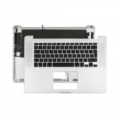 "Topcase Swedish for Apple Macbook Pro 15"" Retina A1398 Chassis Palmrest Top Case with Keyboard and Backlit"