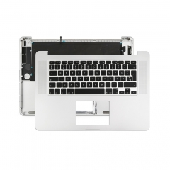 "Topcase Norwegian for Apple Macbook Pro 15"" Retina A1398 Chassis Palmrest Top Case with Keyboard and Backlit"