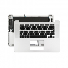 "Topcase Turkish Q for Apple Macbook Pro 15"" Retina A1398 Chassis Palmrest Top Case with Keyboard and Backlit"